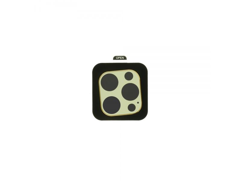 Tvrzené sklo COTEetCI Metal Corning pro Apple iPhone 12 Pro Max, zlatá