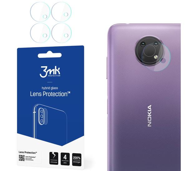 Hybridné sklo 3 mastných kyselín Lens ochrana kamery pre Nokia G10 (4ks)