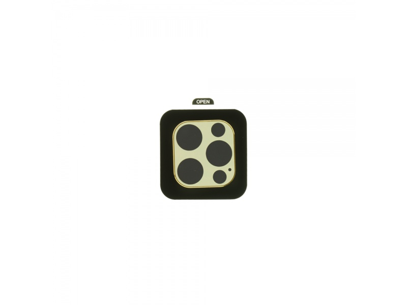Tvrzené sklo COTEetCI Metal Corning Apple iPhone 12 Pro, zlatá