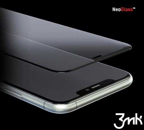Hybridné sklo 3 mastných kyselín NeoGlass pre Apple iPhone 13, čierna