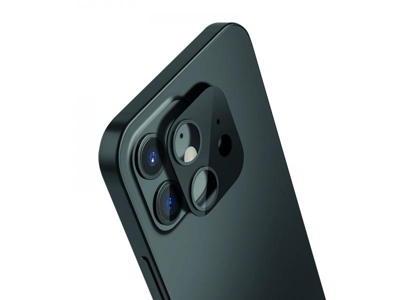 Tvrzené sklo COTEetCI Metal Corning pro Apple iPhone 12, zelená