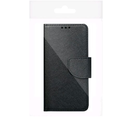 Flipové pouzdroFancy pro Samsung Galaxy A22 5G, černá-zlatá