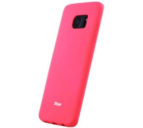Ochranný kryt Roar Colorful Jelly pro Samsung Galaxy A22, tmavě růžová