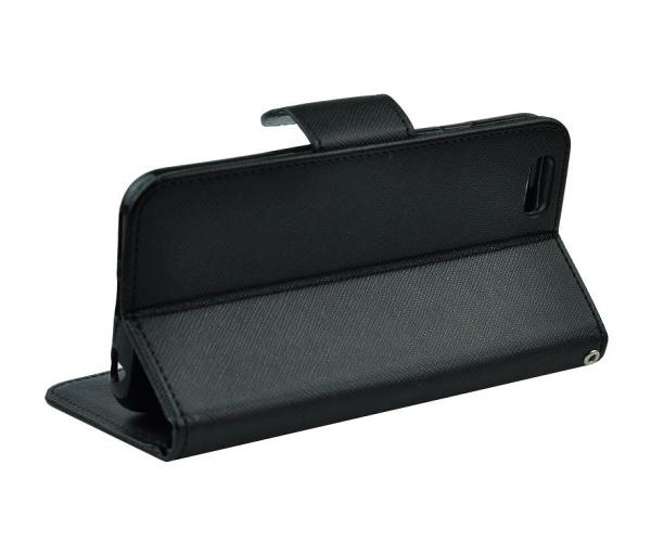 Flipové pouzdro Fancy pro Samsung Galaxy A22, černá