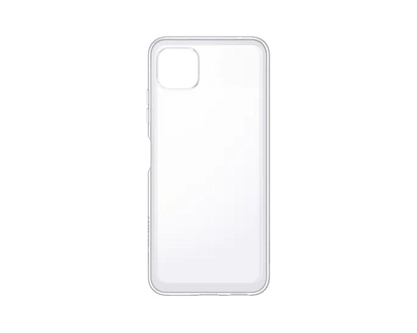 Poloprůhledný zadní kryt pro Samsung Galaxy A22 LTE, transparentní
