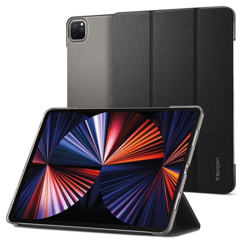 "Ochranné pouzdro Spigen Liquid Air Folio pro Apple iPad Pro 12,9"" 2021, černá"