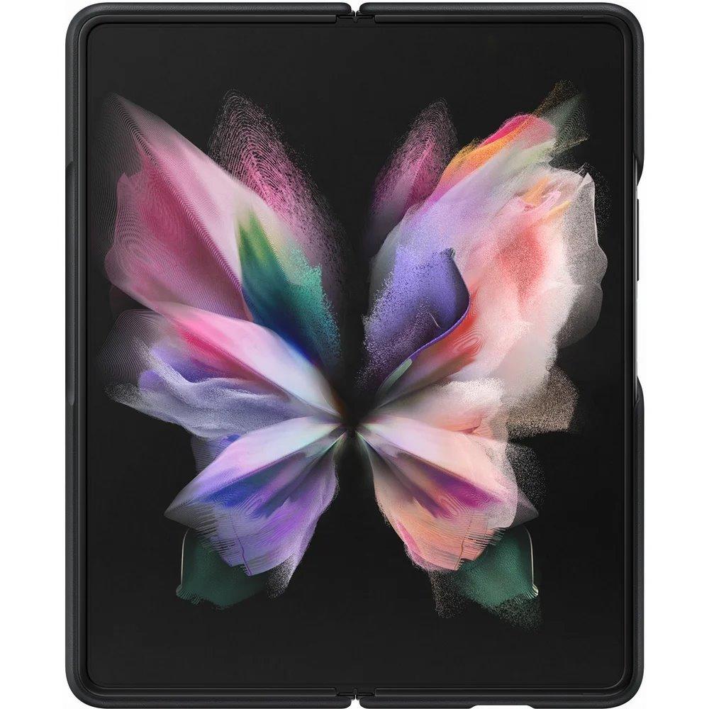 Ochranný kryt Leather Cover EF-VF926LBE pro Samsung Galaxy Z Fold 3, černá