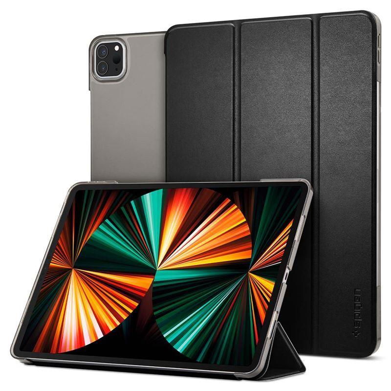 """Ochranné pouzdro Spigen Smart Fold pro Apple iPad Pro 12,9"""" 2021, černá"""
