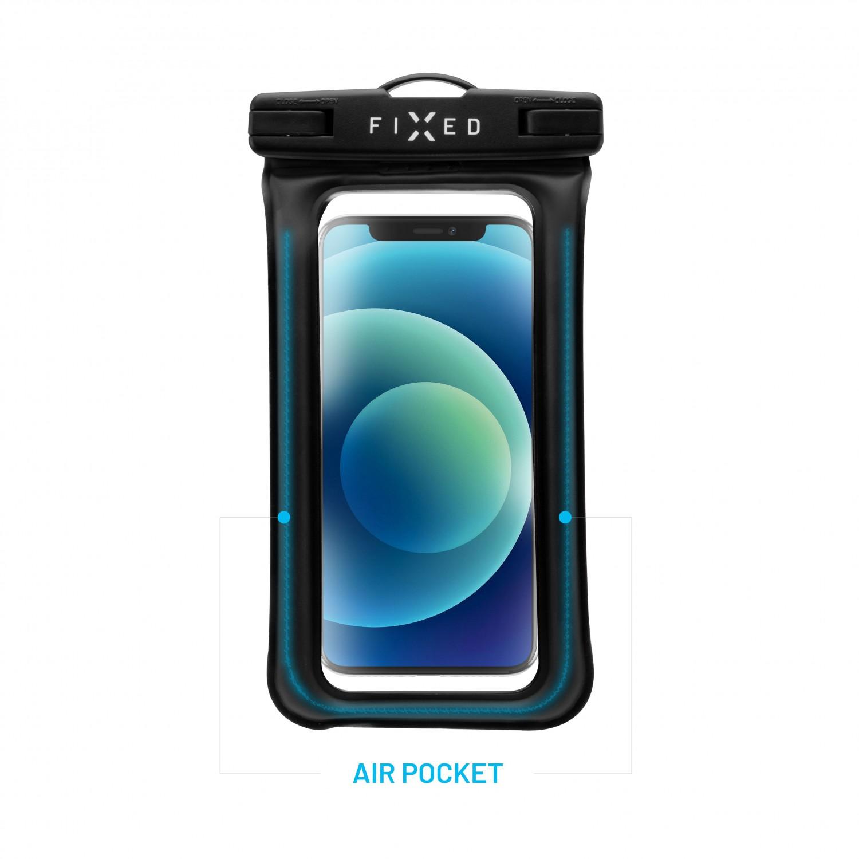 Voděodolné plovoucí pouzdro na mobil FIXED Float Edge, černá