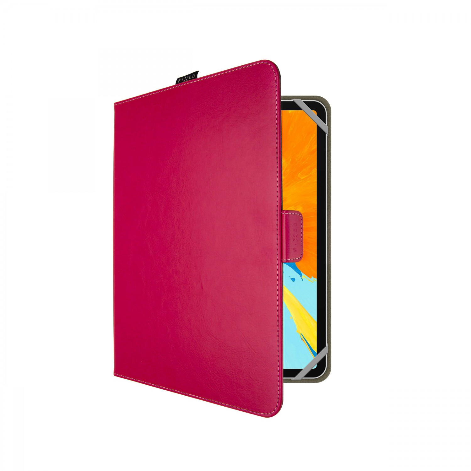 """FIXED Novel Tab univerzální pouzdro na tablet 10,1"""", růžová"""