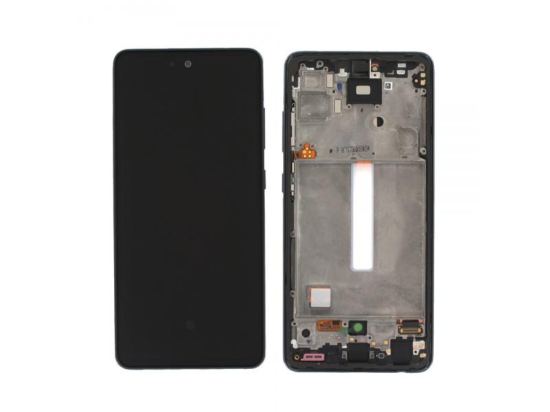 LCD + dotyk + rámček pre Samsung Galaxy A52 / A52 5G / A52s 5G awesome black