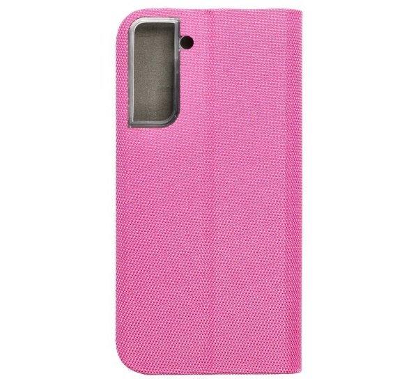 Flipové pouzdro SENSITIVE pro Samsung Galaxy S21, růžová