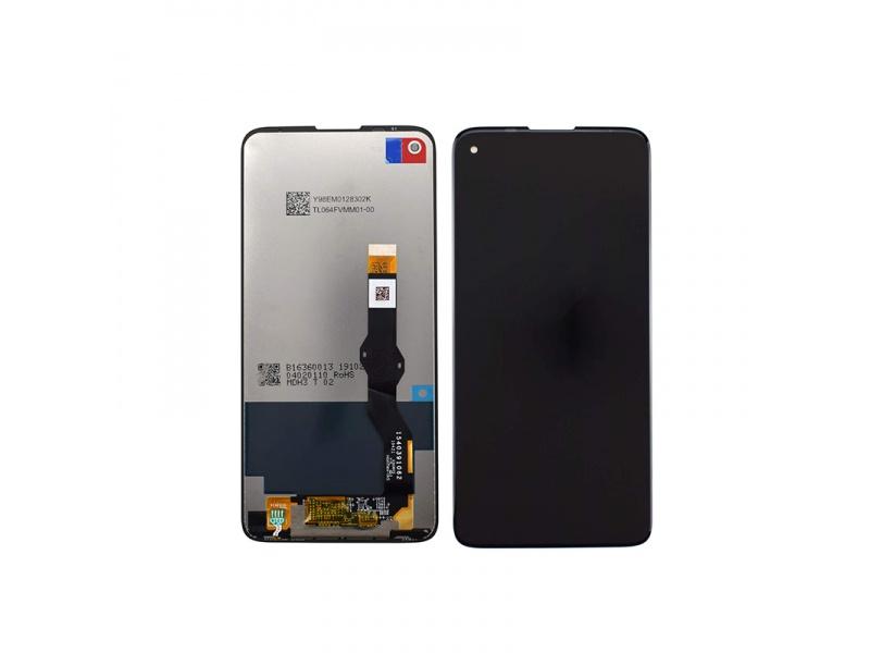 LCD + dotyková doska pre Motorola Moto G8, black (OEM)