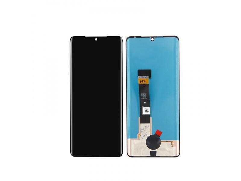 LCD + dotyková doska pre LG Velvet 4G / 5G, black (OEM)