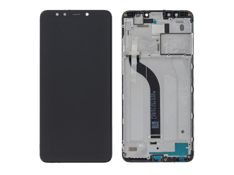 LCD + dotyk + rámček pre Xiaomi Redmi 5, black (Service Pack)