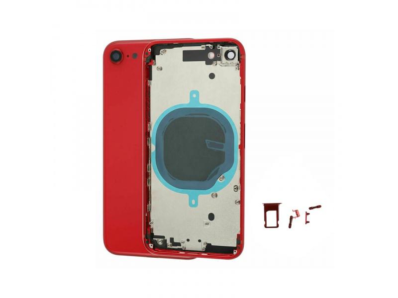 Kryt baterie Back Cover for Apple iPhone SE 2020, červená