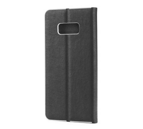 Flipové pouzdro Forcell Luna Book Silver pro Apple iPhone 7, 8, SE (2020), černá