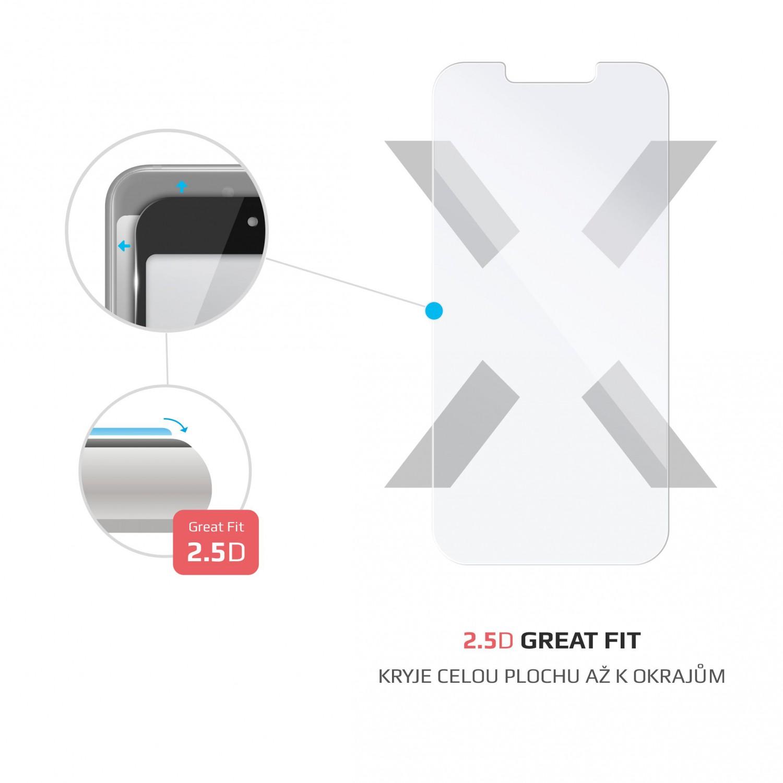 Ochranné tvrzené sklo FIXED pro Apple iPhone 13/13 Pro, čirá