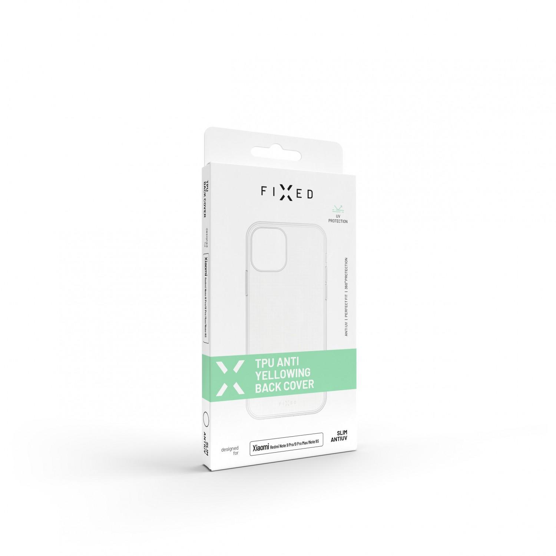 Zadné TPU gélové puzdro FIXED Slim AntiUV pre Apple iPhone 13 Pro, číra