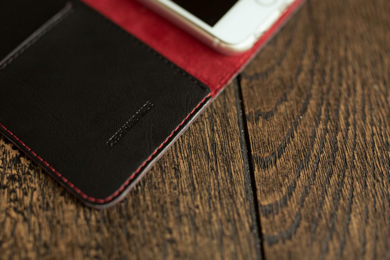 Flipové puzdro FIXED FIT pre Apple iPhone 13, čierna