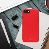 Zadný pogumovaný kryt FIXED Story pre Apple iPhone 13 Pro, červená