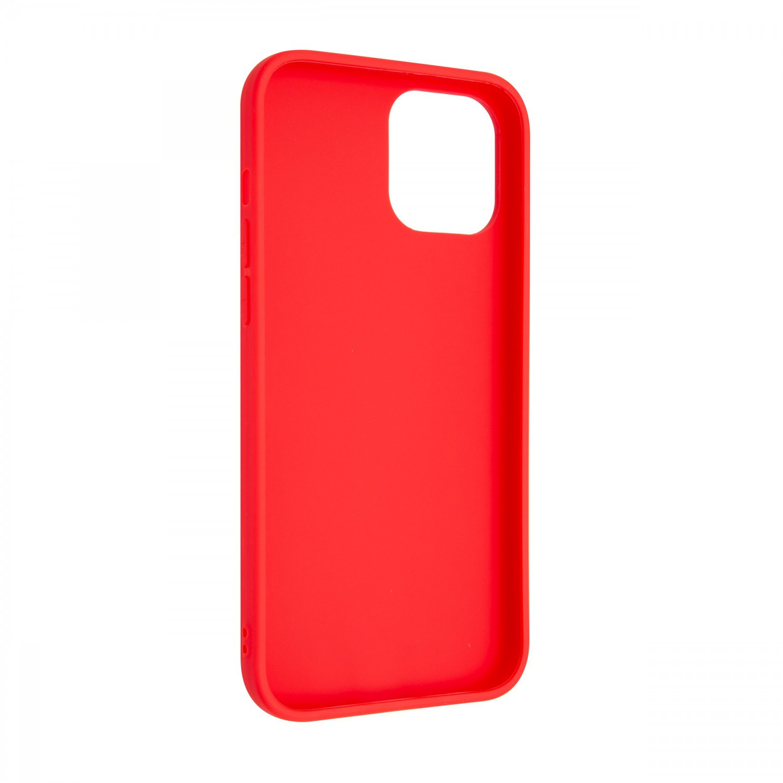 Zadný pogumovaný kryt FIXED Story pre Apple iPhone 13 Pro Max, červená