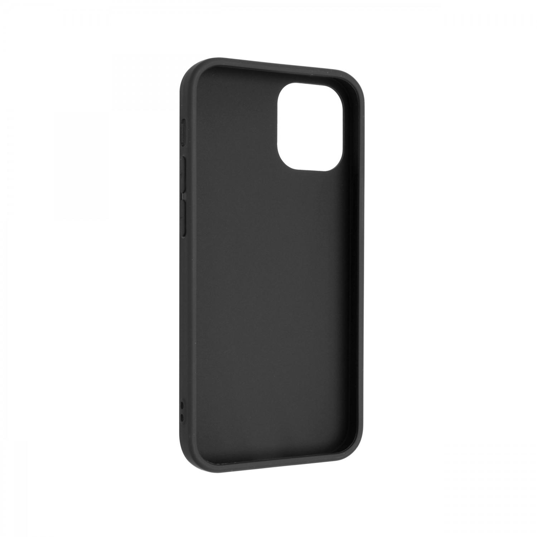 Zadný pogumovaný kryt FIXED Story pre Apple iPhone 13 mini, čierna