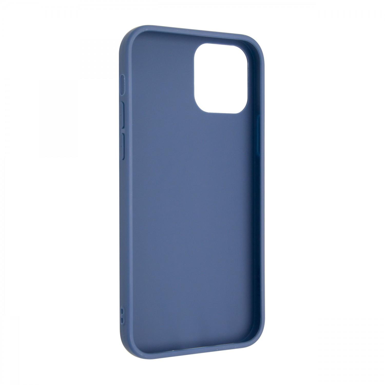 Zadný pogumovaný kryt FIXED Story pre Apple iPhone 13, modrá