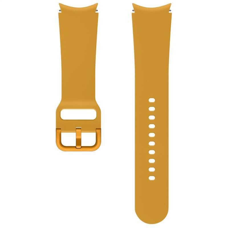 Sportovní řemínek Samsung ET-SFR87LYEGEU velikost M/L 20mm, oranžová