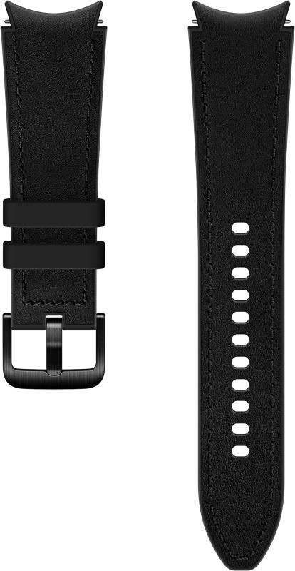 Hybridní kožený řemínek Samsung ET-SHR89LBEGEU velikost M/L 20mm, černá