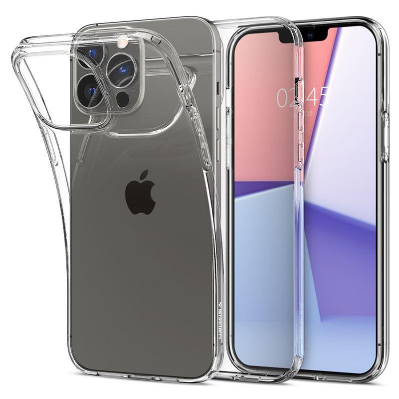 Ochranný kryt Spigen Liquid Crystal crystal clear pro Apple iPhone 13 Pro, transparentní