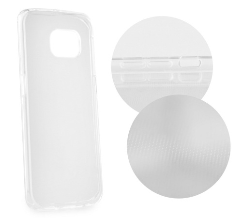 Zadní kryt Forcell Ultra Slim 0,5mm pro Motorola Moto E6i, transparentní