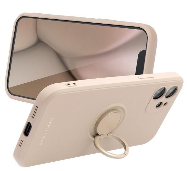 Zadní kryt Roar Amber pro Apple iPhone 12 Pro, růžová