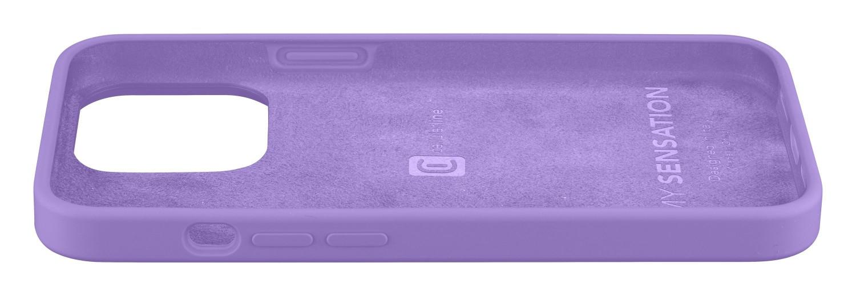 Silikonový kryt Cellularline Sensation pro Apple iPhone 13, fialová