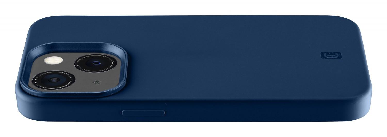 Silikonový kryt Cellularline Sensation pro Apple iPhone 13, modrá