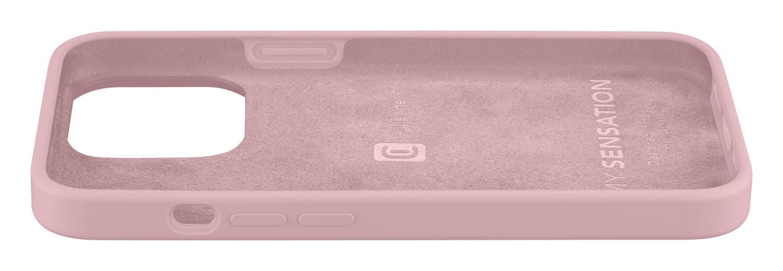 Silikonový kryt Cellularline Sensation pro Apple iPhone 13 Mini, růžová