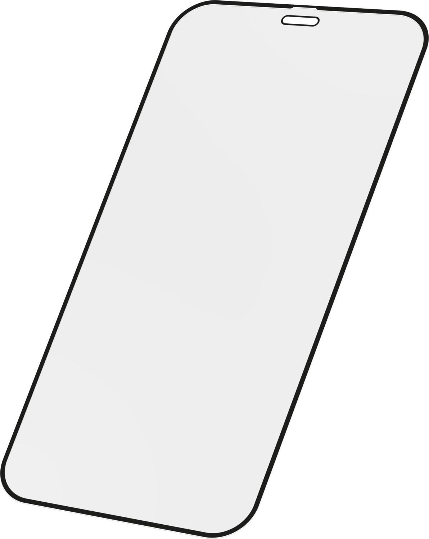 Tvrzené sklo Cellularline CAPSULE pro Apple iPhone 13 Pro Max, černá