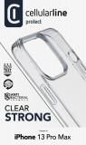 Zadní kryt Cellularline Clear Duo pro Apple iPhone 13 Pro Max, transparentní