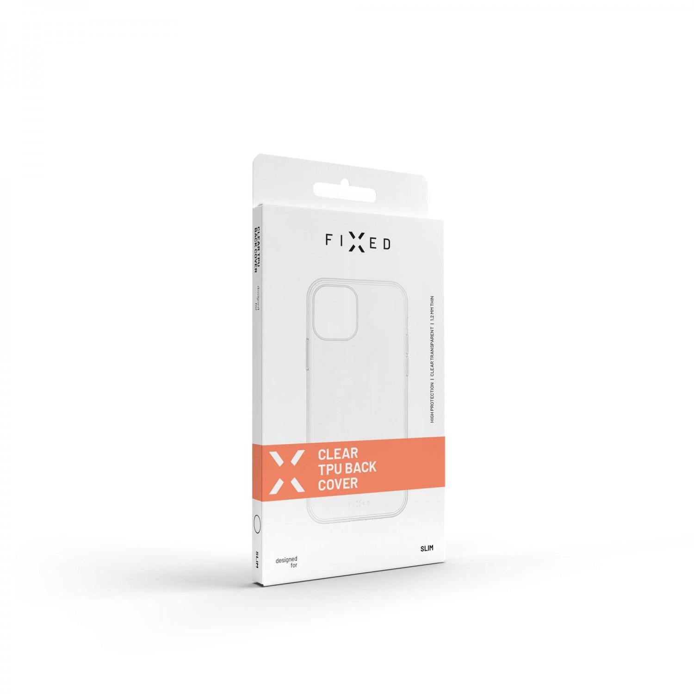 Ultratenké TPU gelové pouzdro FIXED pro Samsung Galaxy A03s, čirá
