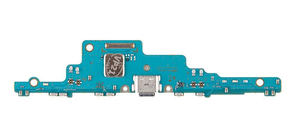 Samsung Galaxy Tab S7 FE 5G SM-T736B Doska vr. Dobíjacieho Konektora (Service Pack)