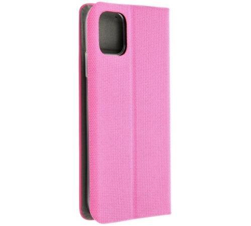 Flipové pouzdro SENSITIVE pro Samsung Galaxy A22 5G, růžová