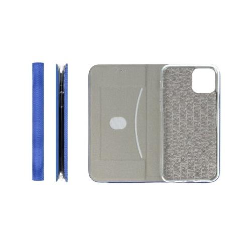 Flipové pouzdro SENSITIVE pro Samsung Galaxy A22 5G, modrá