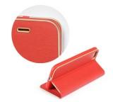 Flipové pouzdro Forcell Luna Book pro Samsung Galaxy A22 5G, červená
