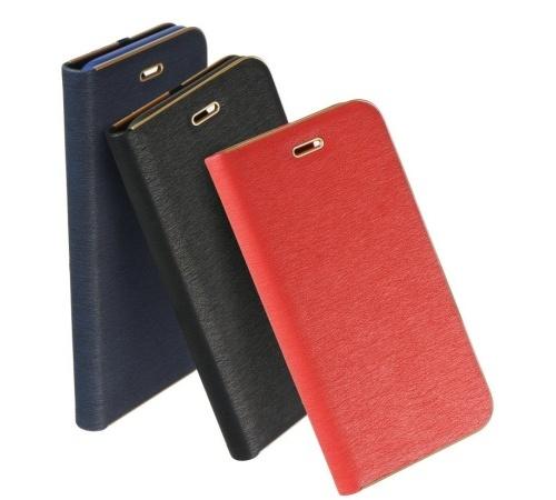 Flipové pouzdro Forcell Luna Book pro Samsung Galaxy S10+, černá