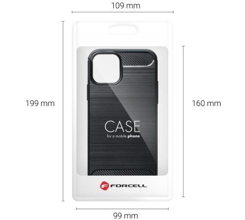 Ochranný kryt Forcell CARBON pro Samsung Galaxy A51, černá