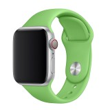 Set silikonových řemínků FIXED Silicone Strap pro Apple Watch 42/44/45 mm, zelená