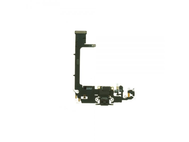 Charging Dock Connector Flex + Board Deep Gray pre Apple iPhone 11 Pro (Genuine)