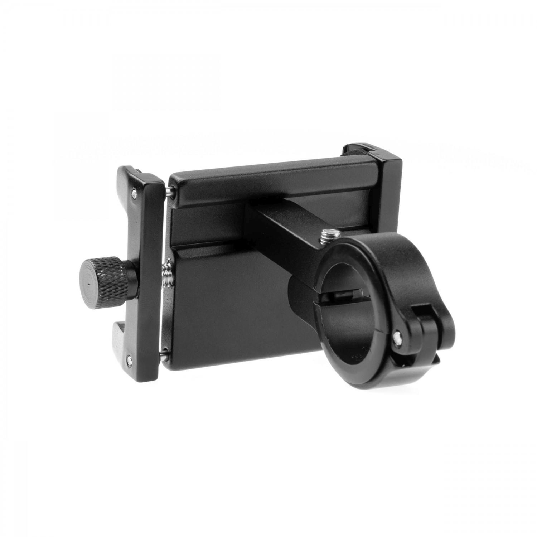 Hliníkový držák mobilního telefonu na kolo FIXED Bikee ALU, černá