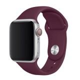 Set silikonových řemínků FIXED Silicone Strap pro Apple Watch 38/40/41 mm, vínově červená