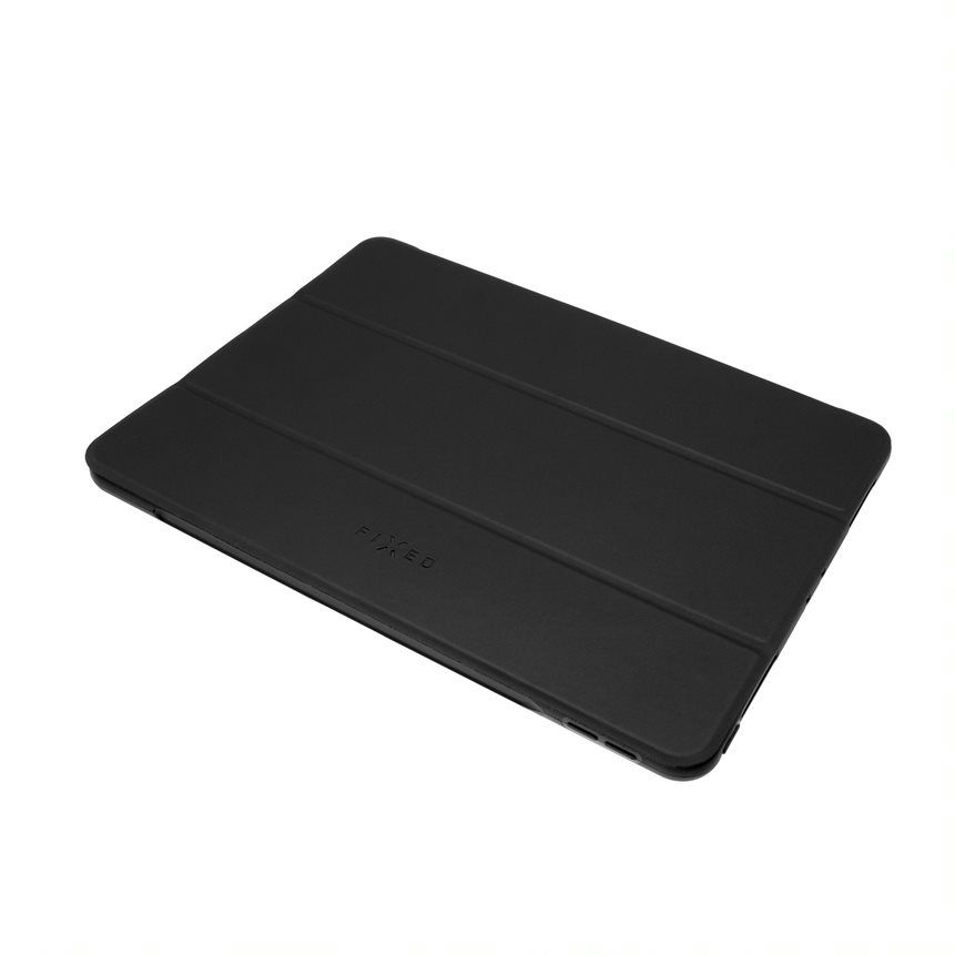 FIXED Padcover flipové pouzdro pple iPad Air (2020), tmavě šedá